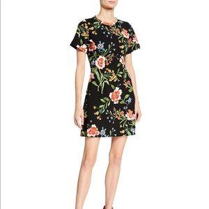 RACHEL Rachel Roy Janie Mini Dress - Floral - XL